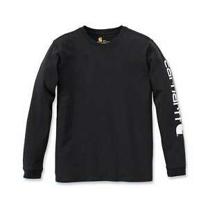 Carhartt-Workwear-Logo-Herren-Langarm-T-Shirt-Longsleeve