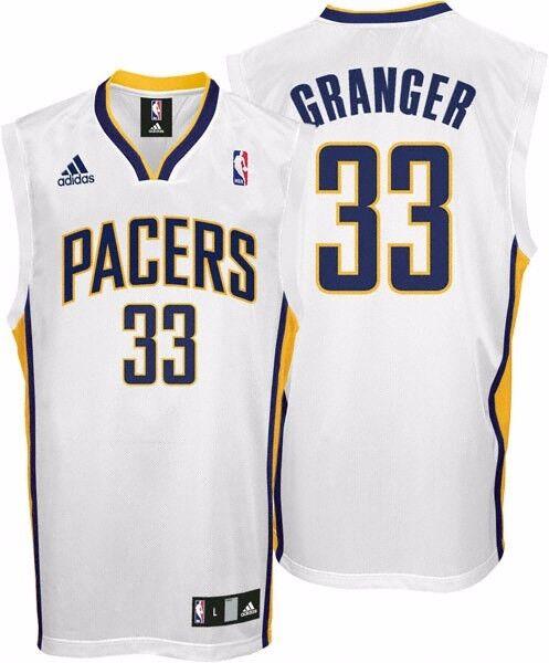 NBA Basketball maillot/Jersey Granger révolution 30 Indiana pacers Granger maillot/Jersey #33 white 4f5966