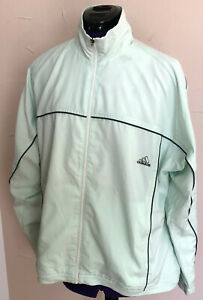 Details zu Adidas Tennis Trainingsjacke Tennisjacke Jacke mint Grün Damen M L 38 40 42