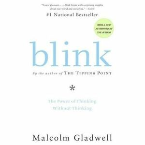 BLINK-The-Power-of-Thinking-Without-Thinking-paperback-book-by-Malcolm-Gladwell