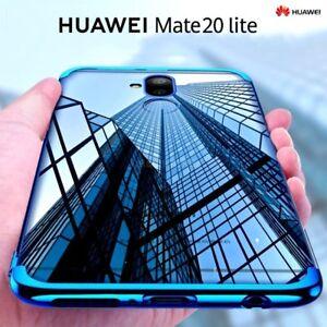 COVER-per-Huawei-Mate-20-Lite-CUSTODIA-ORIGINALE-ELECTROPLATING-Slim-TPU-Case