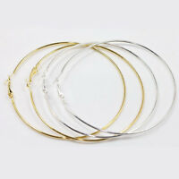 20Pcs Jewelry Circle Basketball Wives Alloy Hoop Big Ear Ring Earring 20-90mm