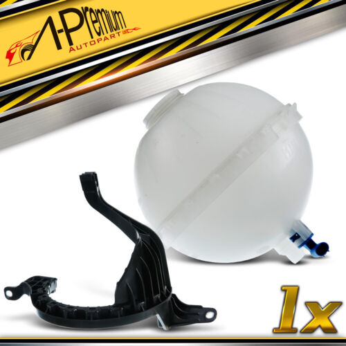 A-premium Coolant Expansion Tank with Bracket for BMW F10 F11 528i xDrive 2.0L