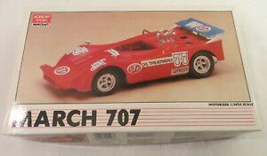 Academy Minicraft MARCH 707 Road racer - Motorized CAR MODEL KIT  1/24