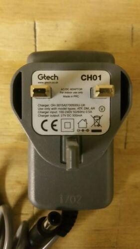 Authentique Gtech mk1 mk2 AirRam Multi Poche k9 CH01 Chargeur De Rechange Remplacement