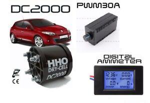 KIT-HHO-PER-MOTORI-2400CC-AMPEROMETRO-PWM-30A