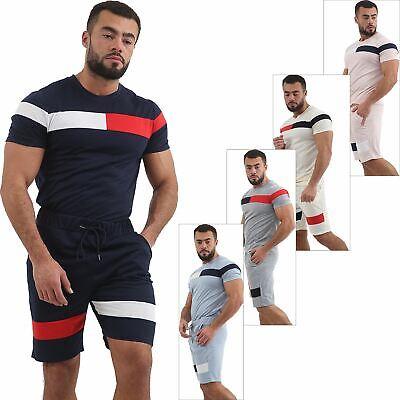 New Men T Shirt & Shorts Set Lounge Shorts Light Summer Casual Top Bottom Pants GüNstigster Preis Von Unserer Website