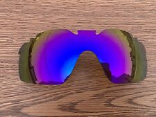 Inew Purple polarized Replacement Lenses for Oakley Radarlock XL