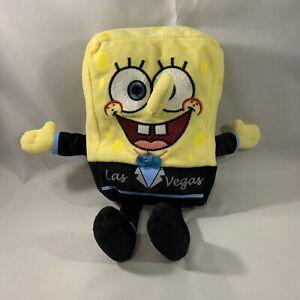 SpongeBob SquarePants Las Vegas Tuxedo TY Beanie Baby Rare 2011 Nickelodeon
