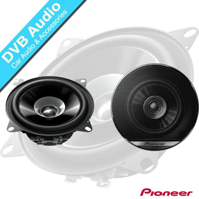 "Pioneer TS-G1030F 4/"" 10cm 3 Way Coaxial Car Audio Speakers inc grilles 210w"