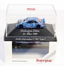 "Herpa 036375, AMG Mercedes C 180 ""Lohr"", 1:87, im Originalkarton     #ab1517"