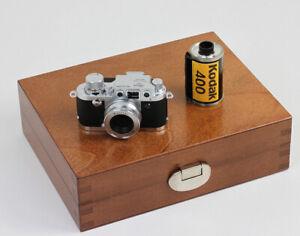 MINOX-Classic-Camera-Leica-3f-neuf-dans-sa-boite-en-bois-Vers-2000