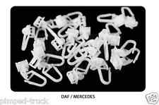 MERCEDES, DAF Curtains hooks for truck MERCEDES, DAF (75 pieces)