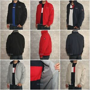 4a7678ed Image is loading New-Tommy-Hilfiger-Mens-Yacht-Jacket-Windbreaker-All-