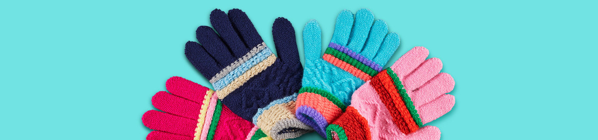 Shop Event Everybody, Bundle Up Gloves, hats, and more from $9.99.