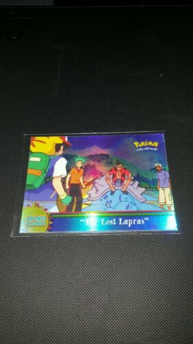 Topps pokemon series 3 OR1 lost lapras card chase rare rainbow foil
