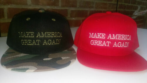 Trump Make America Great Again Ball Cap Red or Camo 1 size fits all new