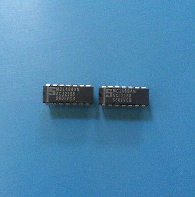 SIGNETICS MC1489AN 14-Pin Dip Quad Line Receiver New Lot Quantity-10