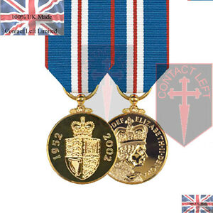 Official-Queens-Golden-Jubilee-Miniature-Medal-and-Ribbon-2002-UK-Made