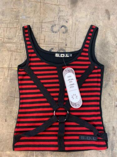 Raven SDL Red Stripe Vest S