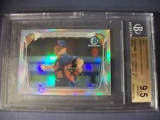 NOAH SYNDERGAARD 2014 Bowman Chrome Mini Refractor #MCNS BGS GEM MINT 9.5 Mets