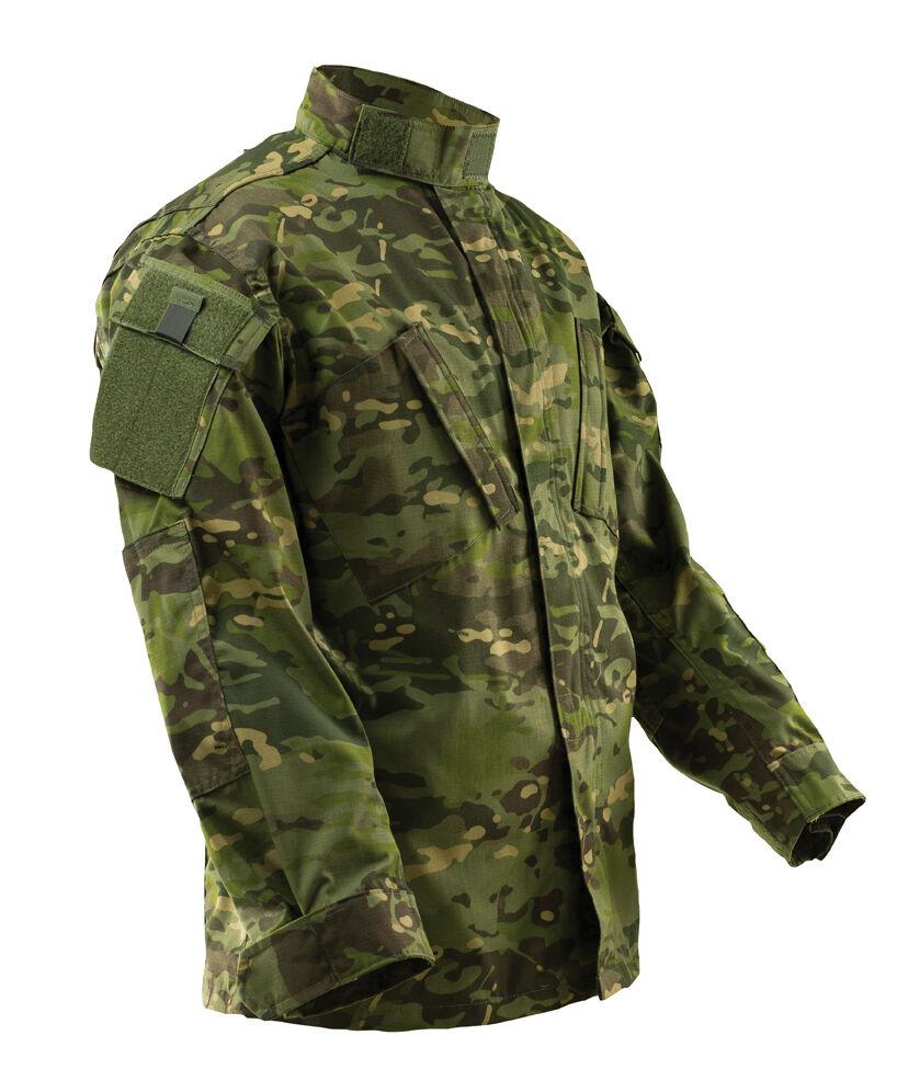 TRU-SPEC 1327 MultiCam Tropic Camo ACU Tactical Response Uniform Men's Shirt