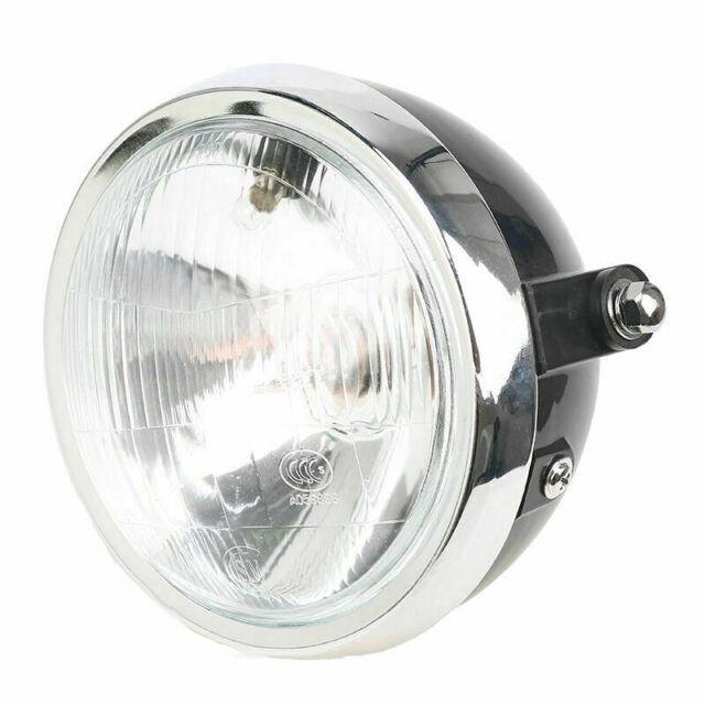 "6""  NEW Universal Front Motor Retro Black Headlight For Honda CB500 ABS TP"