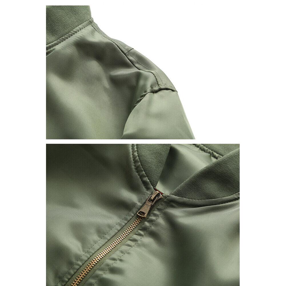 Fall-Winter Mens Slim Fit Lightweight Jacket Coat