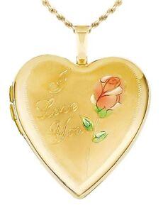 04fe83c5a 14k Yellow Gold Heart