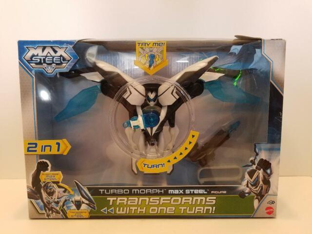 Max Steel Turbo Battlers Arena Blue Mattel New
