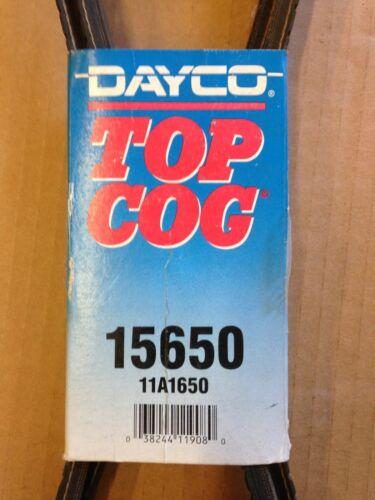 Dayco Top Cog Accessory Drive V-Belt 15650