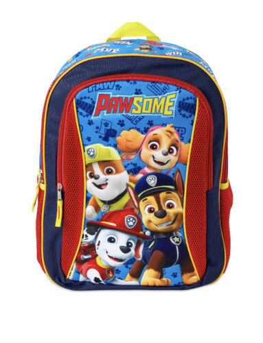 Kids Backpack School Bag Toddler Children Paw Patrol Design Adjustable Straps