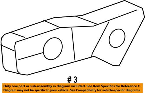 Dodge CHRYSLER OEM Charger Front Bumper-Cover Support Bracket Left 57010287AC