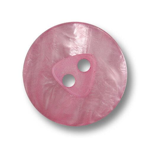 5845pi 15 pink schimmernde Zweilochknöpfe in modernem Design