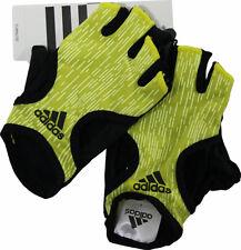 Adidas Damen Fitness Handschuhe, Trainings Handschuh Rad Handschuhe Gr S in gelb