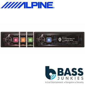 alpine cde 178bt 50w x 4 bluetooth cd mp3 usb aux in. Black Bedroom Furniture Sets. Home Design Ideas