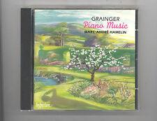 (CD) Grainger: Piano Music / Marc-Andre Hamelin / [hyperion]