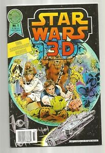 Star-wars-3d-1-byBloack-throne-Comic-book-in-VF-onition-not-polybagged-no-3d-gl