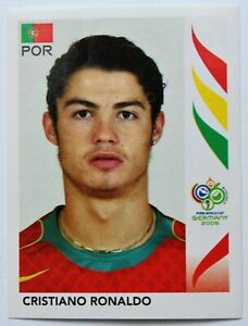 Panini-WM-2006-Sticker-Ronaldo-298-World-Cup-Rookie-Portugal
