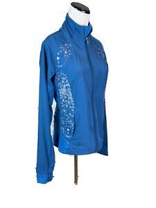 Lululemon-Women-s-Jacket-Teal-Great-Lightwait-8-Breathable-Mock-Neck-Windbreaker