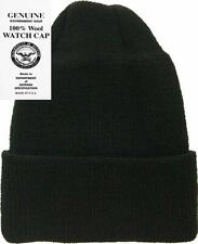27d9fafc547 item 7 Mcguire Gear 100% Wool Watch Cap Beanie - Military Style Made in  USA