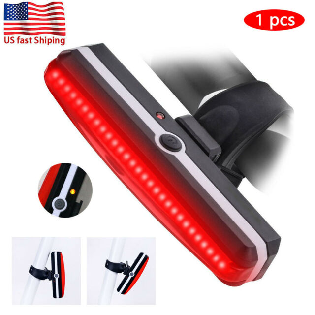 Front Lamp Rechargeable USB LED Cycling Horn Bike Tail Light Bicycle Headlight