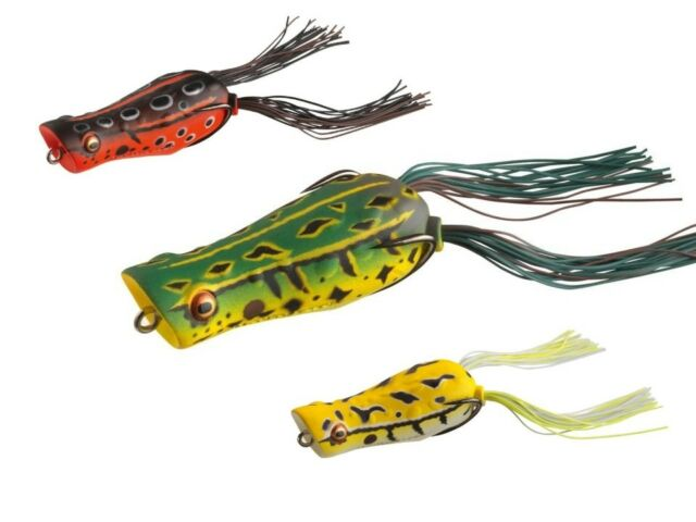 VARIOUS COLOURS! 6,5cm 14g topwater lure Daiwa D-Popper Frog