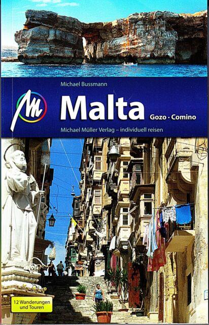 REISEFÜHRER MALTA GOZO & COMINO, 2013/14 MICHAEL MÜLLER VERLAG, mit Wanderungen