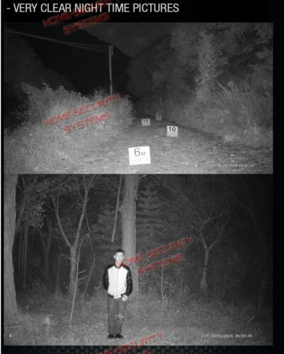 Trail Camera Security Hunting Farm Wildlife Scout Night Vision motion Detection
