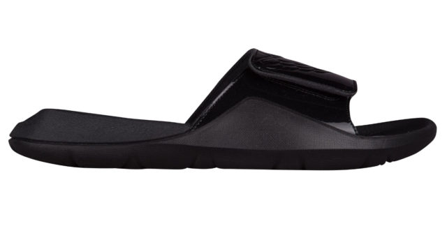710b79645a18 Nike Jordan Mens 11 Hydro 7 Aa2517 010 Black Slide Sandals for sale ...