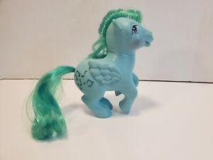 Vintage 1983 My Little Pony MEDLEY Pegasus Green Pony Music Notes