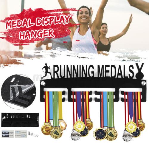 Runner Medals Hanger Display Wall Holder Sport Race Triathlon Running Acrylic