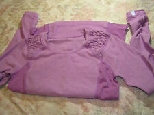 Lululemon 6 Run Resolution Long Sleeve heathered Purple Crush EUC! RARE!