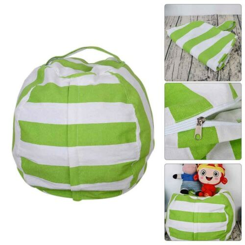 EXTRA Home Stuffed Animal Toy Storage Bean Bag Bean Cover Soft Seat 52*34cm 1x
